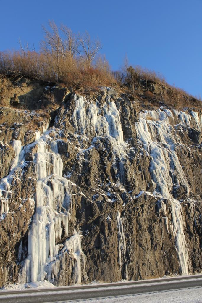 Ice flow, Kenai Peninsula